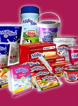 FROZEN ITEMS AND MILK PRODUCTS